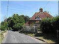 TQ5407 : Tudor Cottage, The Street by Simon Carey