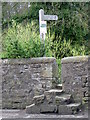 NZ2115 : Stile on the Teesdale Way by Miss Steel