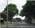 SP0895 : Sutton Coldfield, Banners Gate Road Approaching Chester Road North, Monmouth Drive Crossroads by Roy Hughes