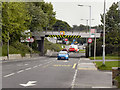 SJ9292 : Railway Bridge, Ashton Road by David Dixon