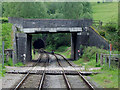 SJ9853 : Railway south of Cheddleton Tunnel, Staffordshire by Roger  Kidd