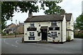 SK3369 : The Bull's Head pub, Holymoorside by Andrew Hill