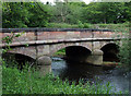 SJ9852 : Basford Bridge at Cheddleton,Staffordshire by Roger  Kidd