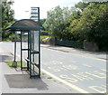 ST2990 : Wrong bus stop sign, Monnow Way, Newport by John Grayson