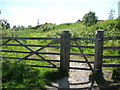 SO3283 : Footpath entrance to Bury Ditches hillfort site by Jeremy Bolwell