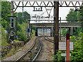 TQ5389 : View east from platform end, Gidea Park : Week 24