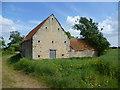 TF1104 : Derelict barn near Helpston by Marathon