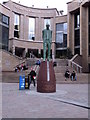 NS5965 : Donald Dewar statue, Buchanan Street by Keith Edkins