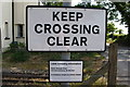 TG2920 : Belaugh Green level crossing - detail by Glen Denny