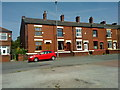 SD8904 : Terraced houses on Foxdenton Lane, Chadderton by Steven Haslington