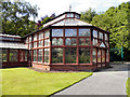 SJ9598 : John Nield Conservatory, Stamford Park by David Dixon