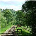 SJ9950 : Churnet Valley Railway near Consall, Staffordshire by Roger  Kidd
