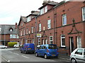 SJ9956 : Terraced houses on Queen Street by Alan Murray-Rust