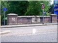 SJ8445 : Road bridge over Lyme Brook, Newcastle under Lyme by Carl Farnell