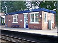 SJ8354 : Waiting room, Kidsgrove Station by Carl Farnell
