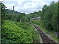 SK0247 : Churnet Valley Railway at Froghall, Staffordshire by Roger  Kidd