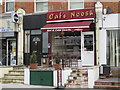 TQ2585 : Caf&eacute; Noosh, Fortune Green Road, NW6 by Mike Quinn