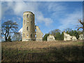 TL3352 : Principal tower - Wimpole Folly by Given Up