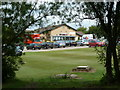 SK4682 : Club house, Rother Valley golf course by Andrew Hill