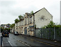 SJ8746 : Derelict factory frontages in Shelton, Stoke-on-Trent by Roger  Kidd