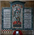 TF0607 : St Michael & All Angels, Uffington - War Memorial by John Salmon