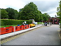 SJ7083 : Miniature Railway at High Legh Garden Centre by Anthony Parkes