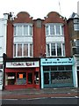 TQ1780 : Two shops in High Street Ealing by David Smith