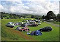 SH8830 : Bwch Yn Uchaf campsite by Dave Croker