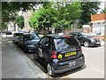 TQ2584 : Camden CCTV car, Compayne Gardens, NW6 (2) by Mike Quinn