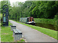 SJ8839 : Canal north-west of Trentham Lock, Staffordshire by Roger  Kidd