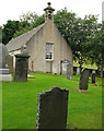 NJ3715 : Church and graveyard at Glenbuchat by Trevor Littlewood