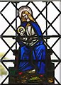 TL2639 : St Mary, Ashwell - Stained glass window by John Salmon