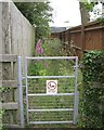SP1967 : Footpath between fences by Robin Stott
