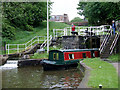 SJ8746 : Bedford Street Locks at Etruria, Stoke-on-Trent by Roger  Kidd