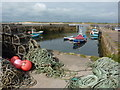 NU2328 : Beadnell Harbour : Week 25