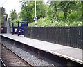 SJ9496 : Platform scene on Flowery Field station by Raymond Knapman