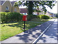 TL2862 : Ermine Street South &amp; Papworth Everard L/B Postbox by Adrian Cable