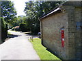 TL2664 : The Old Bakehouse & Papworth St.Agnes Village Victorian Postbox by Adrian Cable