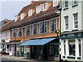 TM0242 : Shops On Hadleigh High Street by Tim Marchant