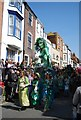 TQ8209 : Jack in the Green Festival 2011 - mermaid by N Chadwick