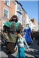 TQ8209 : Jack in the Green Festival 2011 - giant and giantess by N Chadwick