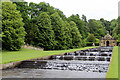 SK2670 : Cascade, Chatsworth House, Derbyshire by Christine Matthews