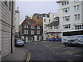 TQ3103 : Empty shops, Pool Valley, Brighton by PAUL FARMER