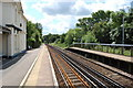 TQ6527 : Railway Tracks towards Hastings, Stonegate Station by Julian P Guffogg