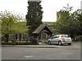 SD6592 : Parish Church and Lychgate, Sedbergh by David Dixon