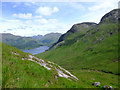 NM8877 : Coire Ghiubhsachain looking towards Loch Shiel by Jonathan Venn