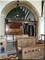 SU4331 : St. Stephen's Sparsholt: organ : Week 26