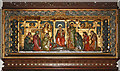 TQ2385 : St Gabriel, Walm Lane, Cricklewood - Reredos by John Salmon