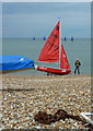 TR1066 : Getting ready to sail, Whitstable : Week 27