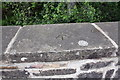 SD8998 : Benchmark on top of SW parapet of Thwaite Bridge by Roger Templeman